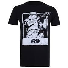 Blind Guardian Shirts Star Wars Rogue One Men U0027s Trooper Polaroid T Shirt Black