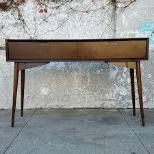 mid century entry table sunbeam vintage desks