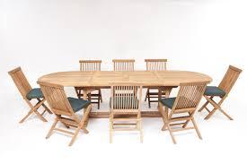 Teak Outdoor Table Honfleur Teak Garden Furniture Set Humber Imports