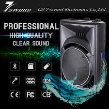 Top Bar Songs Top Tech Audio High Quality Trolley Speaker Products For Bar New