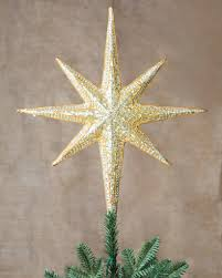 beaded tree topper balsam hill