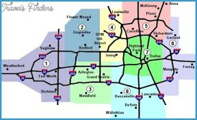 fort worth map dallas fort worth metro map travel map vacations