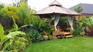 Tropical Backyard Ideas Daniel S Tropical Garden In Australia Finegardening