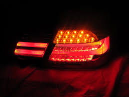 e38 euro tail lights euro amber led signal lci m3 replacement tail light for 2011 13 bmw