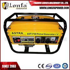 astra korea 3700 gasoline generator 2kw manual petrol portable