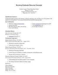 Examples Of Resumes For Nurses Cover Letter Nursing Graduate Image Collections Cover Letter Ideas