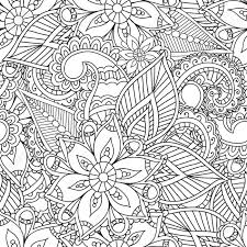coloring pages henna art coloring pages for adults seamless pattern henna mehndi doodles