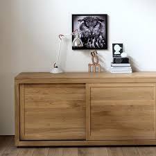 2 Door Oak Sideboard Ethnicraft Pure Oak Sideboard Solid Wood Furniture