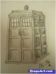 how to draw the tardis step by step symbols pop culture free