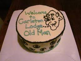 second generation cake design old man birthday cake