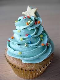 blue christmas tree cupcake cup cake pinterest christmas