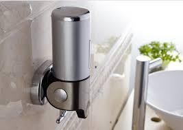 Wall Mounted Soap Dispenser Bathroom Home Interior Ekterior Ideas - Bathroom liquid soap dispenser