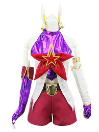 League Legends Halloween Costume League Legend Lol Star Guardian Jinx Cosplay Costume Halloween