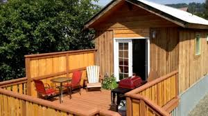 tiny house deck amazing tiny house with 300 square feet in homer alaska is open