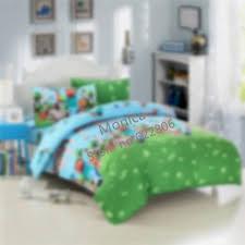 Uk Single Duvet Size 3d Minecraft Bedding Sets Flat Sheet Duvet Cover Pillowcase Kids