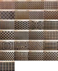 circular wood wall air vent wood return air grill