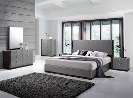 Modern Bed Set Modern Bedroom Set By J M Furniture