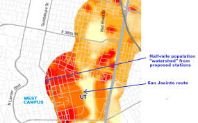 Map Of Ut Austin by University Of Texas Issues Rail Now