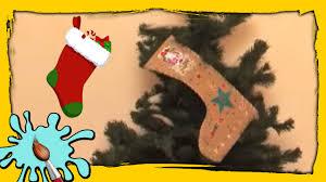 last minute christmas stocking idea diy christmas crafts easy