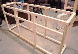Diy Plywood Cabinets Diy Restoration Hardware Printmakers Sideboard