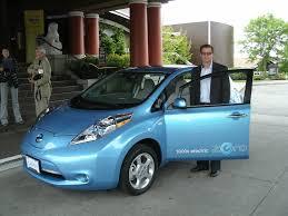 stanced nissan leaf automatter auto reviews