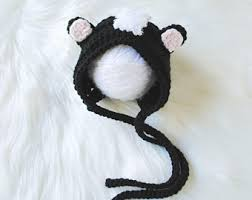 Infant Skunk Halloween Costume Baby Skunk Costume Etsy
