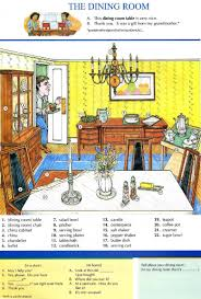 11 the dining room pictures dictionary english study