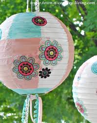 Easter Egg Lantern Decorations by How To Create Pretty Paper Lanterns Jennifer Rizzo