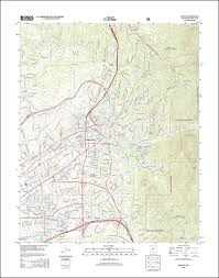 Topographical Map Of New Mexico by Latest Idaho And New Mexico Quads Available