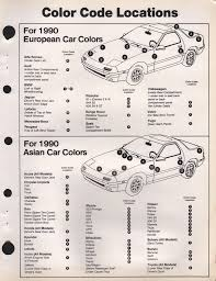 suzuki paint chart color reference