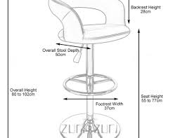 stools superb bar s famous bar stool seat dimensions kitchen