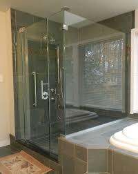 panel door panel return shower door king shower door installations