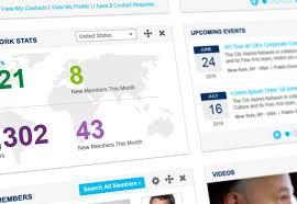 alumni network software featured work pcd