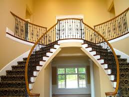 Iron Banister Spindles Wood Staircases With Iron Balusters