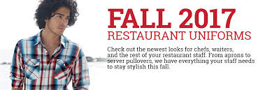 fall 2017 restaurant uniforms aprons and shirts best buy uniforms