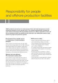 vega pressure u0026 level measurement oil and gas offshore applications