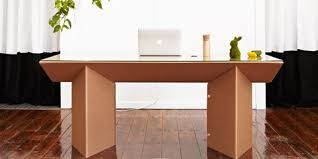 cardboard furniture isn u0027t a joke and it might make moving less