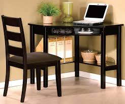 Corner Desk Sets by Homelegance Benton 2 Piece Desk And Chair Set In Black Finish
