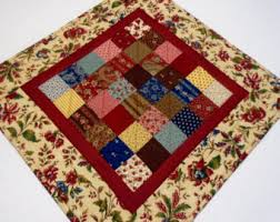 Primitive Table Runners by Quilted Table Runner Quilted Table Topper Quilted Table