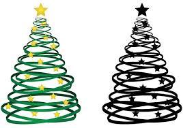 ribbon christmas tree ribbon christmas tree vector free vector at vecteezy