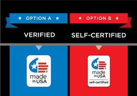 made in the usa brand logo certification for american made