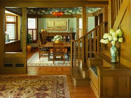 craftsman style interior doors and trim craftsman house plans