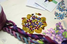 ribbon embroidery flower garden hearty craft silk ribbon embroidery