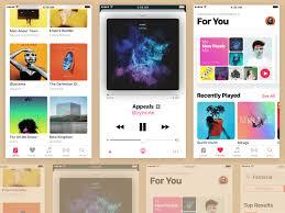 apple music apple music app sketch freebie download free resource for sketch