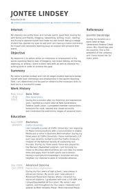 smartness design cover letter for bank teller 9 sample cv resume