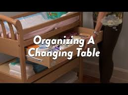 Cot Changing Table Organizing A Changing Table Cloudmom