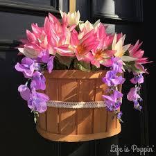 cheap flower flower door hanger diy for cheap hometalk