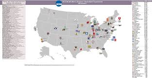 Gmu Map Colorado by Ncaa Men U0027s Basketball Billsportsmaps Com