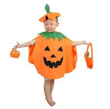 pumpkin costume 2017 2 styles costume masquerade pumpkin clothes hat bag
