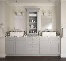 White And Gray Bathrooms Pre Assembled Bathroom Vanities Bathroom Vanities All Home
